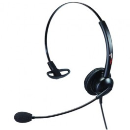 Supervoice SVC101 Call Center Headset Mono with QD Connector